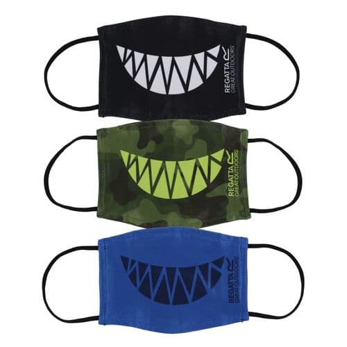 Kid's Face Mask Green